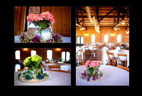 Wedding flowers and decor at Bella Springs